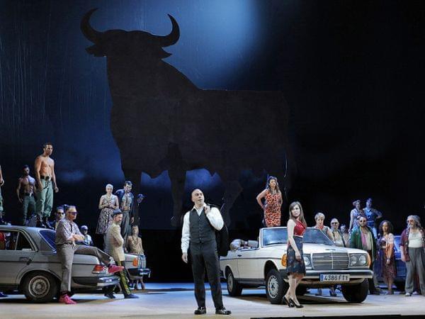 The San Francisco Opera performs Carmen