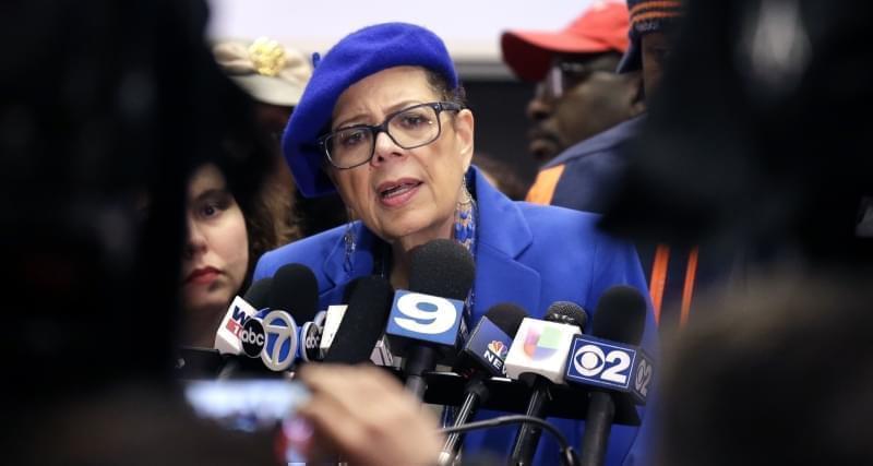 Chicago Teachers Union President Karen Lewis.