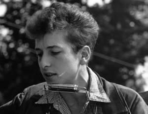 Singer-songwriter Bob Dylan.