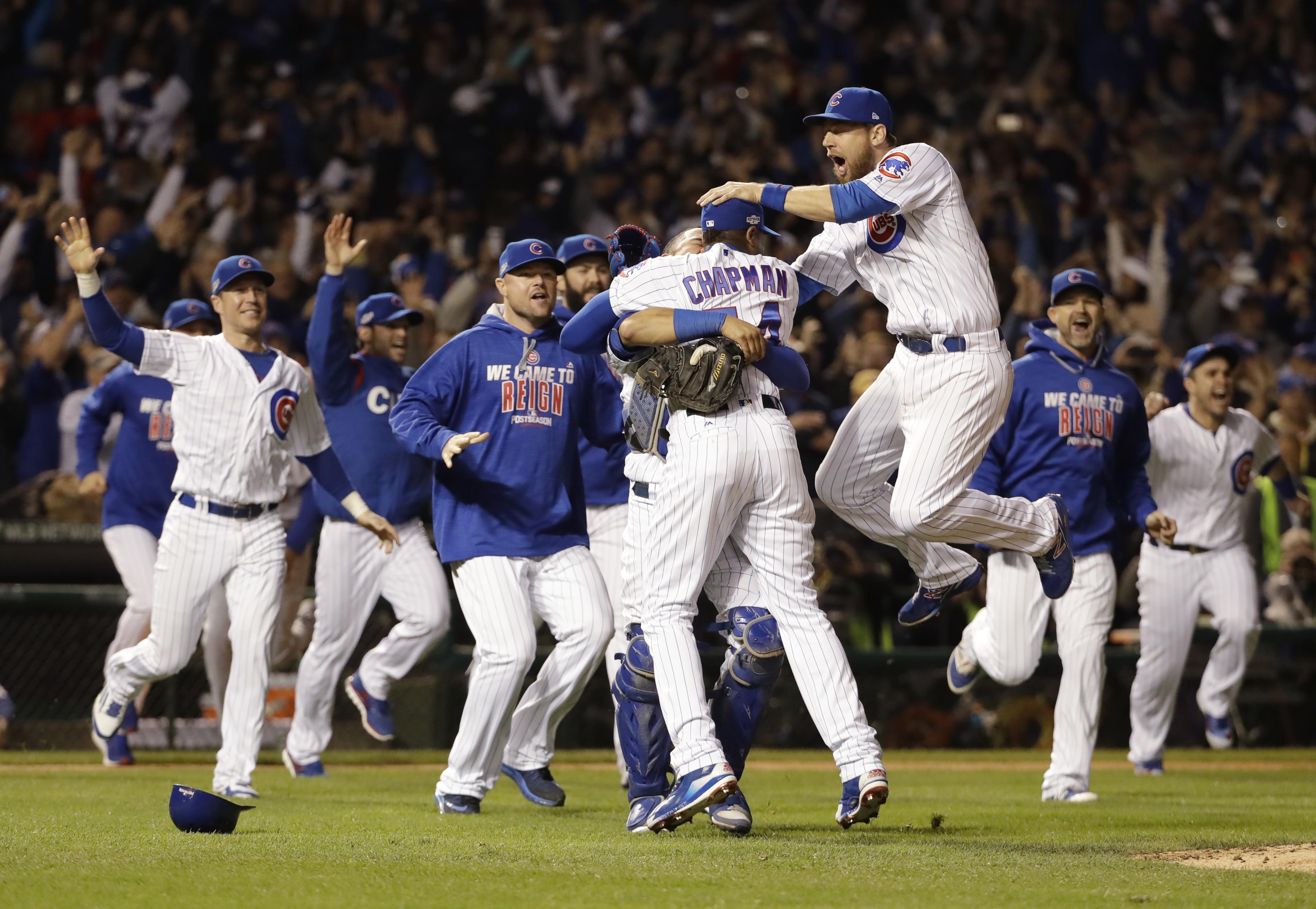 Cubs win National League pennant