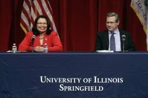 Mark Kirk and Tammy Duckworth