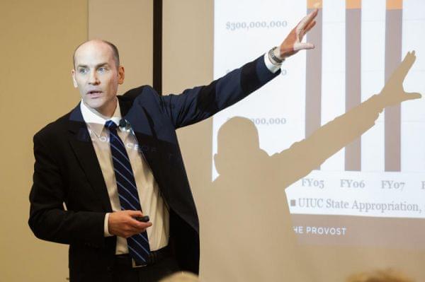 Edward Feser, interim provost at the University of Illinois at Urbana-Champaign