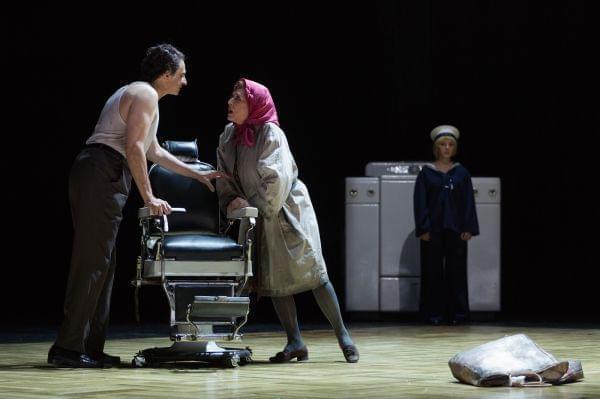 A scene from an opera
