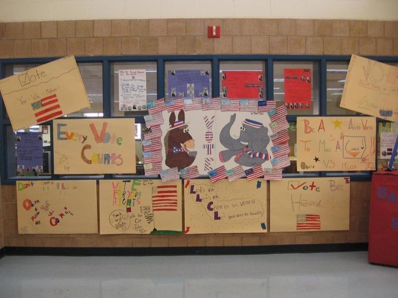 kids voting board