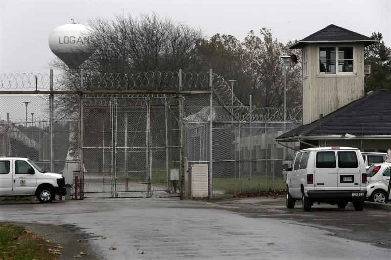 Security fences surround the Logan Correctional Center Friday, Nov. 18, 2016, in Lincoln, Ill