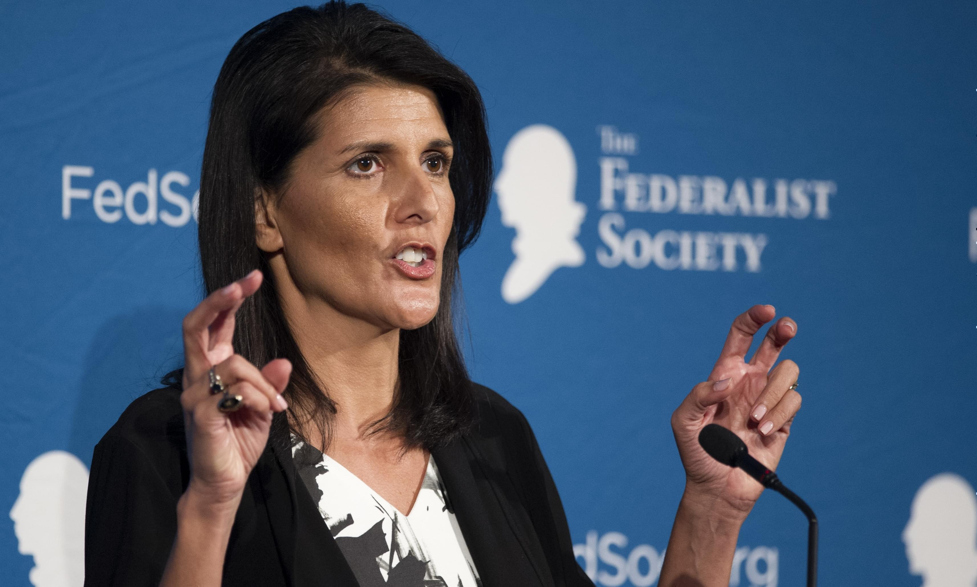 South Carolina Gov. Nikki Haley.