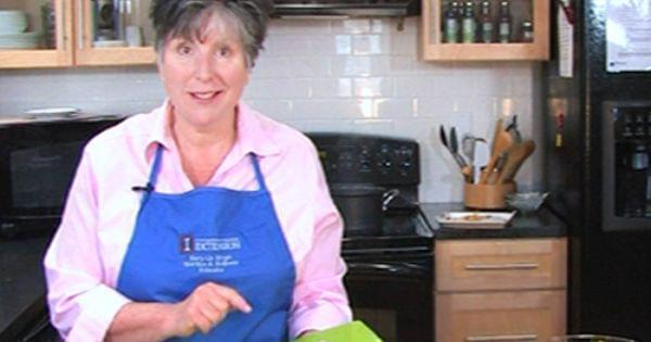 Mary Liz Wright in the kitchen