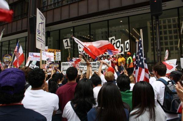 Proponents of immigration reform rallied in Chicago in 2010.
