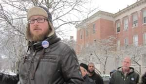 University of Illinois Urbana Campus union official and English lecturer Shawn Gilmore.
