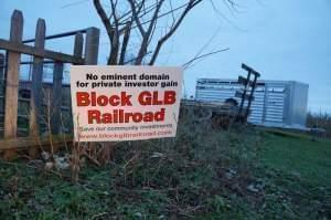 A yard sign.