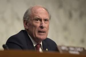 Former Joint Economic Committee Chairman Sen. Dan Coats, R-Ind. speaks at the conclusion of a hearing with Federal Reserve Chair Janet Yellen on Capitol Hill in Washington, Thursday, Nov. 17, 2016.