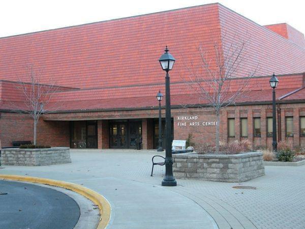 Kirkland Fine Arts Center Main Entrance