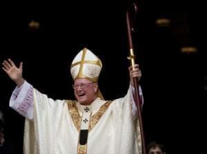 Cardinal Timothy Dolan, the archbishop of New York.