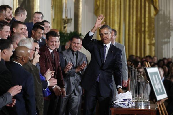 President Obama and Chicago Cubs