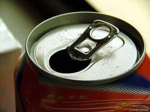 Stock image of soft drink can.