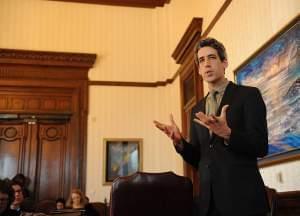 State Senator Daniel Biss, a Democrat from Evanston.