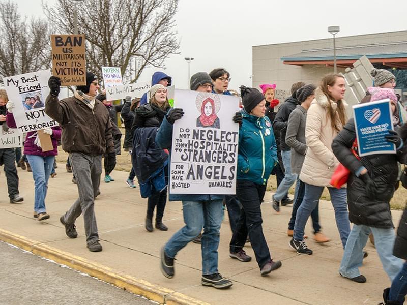 Rally at Willard Airport