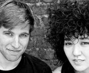 Pianist Joseph Houston and violinist Aisha Orazbeyeva.