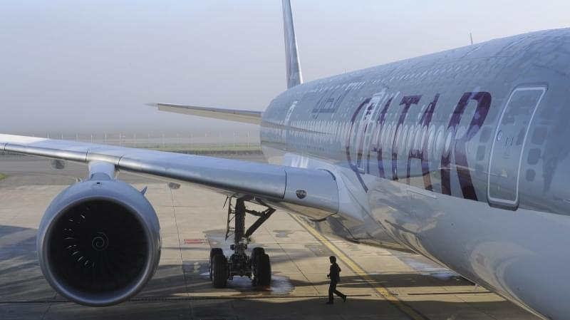 An Airbus A350-900 for Qatar Airways in 2014 in France. Qatar Airways is among the airlines that have announced they will resume boarding travelers affected by President Trump's executive order.