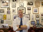 Chicago businessman Chris Kennedy, poses for a portrait in his office Wednesday, Feb. 8, 2017, in Chicago. Kennedy, the son of the late Sen. Robert F. Kennedy Jr., says he will run for Illinois governor in 2018.