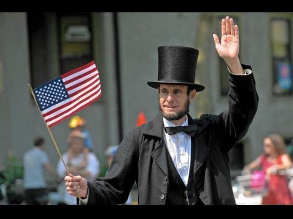 Abraham Lincoln presenter