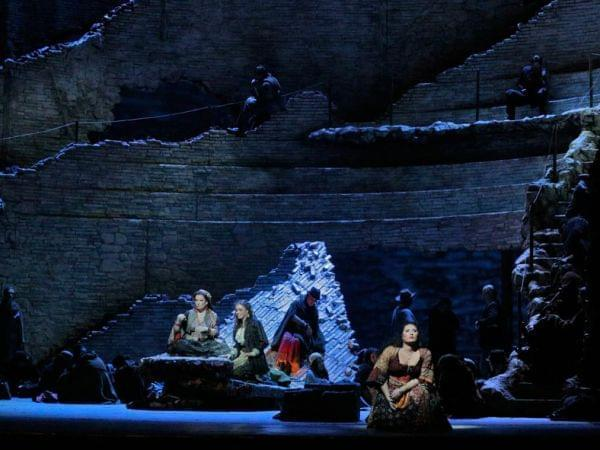 Scene from Carmen at the Met