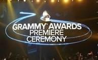 A general view of atmosphere at the 59th annual Grammy Awards on Sunday, Feb. 12, 2017, in Los Angeles.