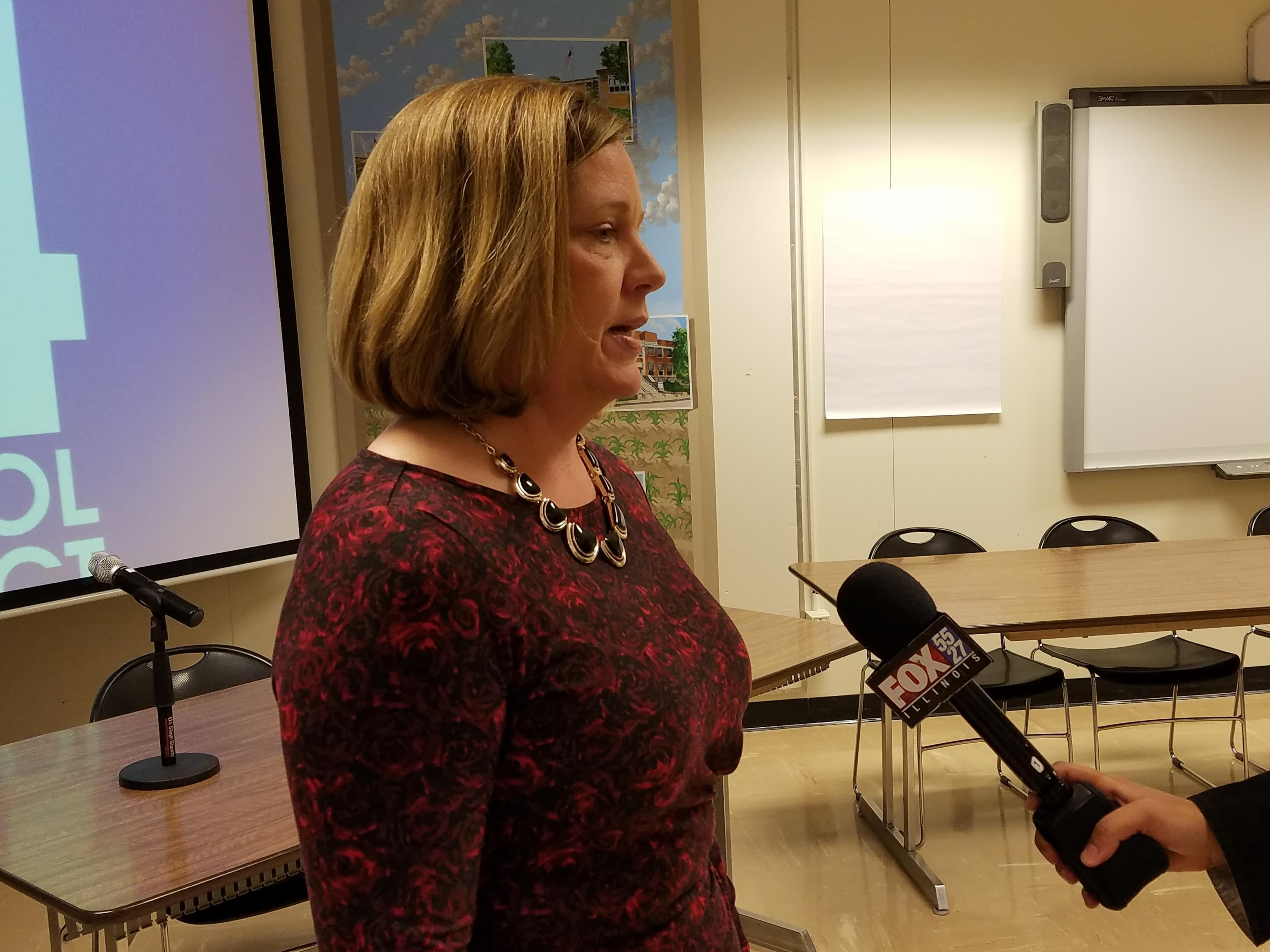 Dr. Susan Zola, who was announced as Champaign Unit 4 Schools next superintendent Wednesday.