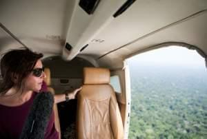 Lulu Garcia-Navarro on assignment in the Brazilian Amazon in 2015.