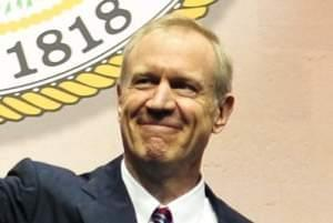 Illinois Governor Bruce Rauner.