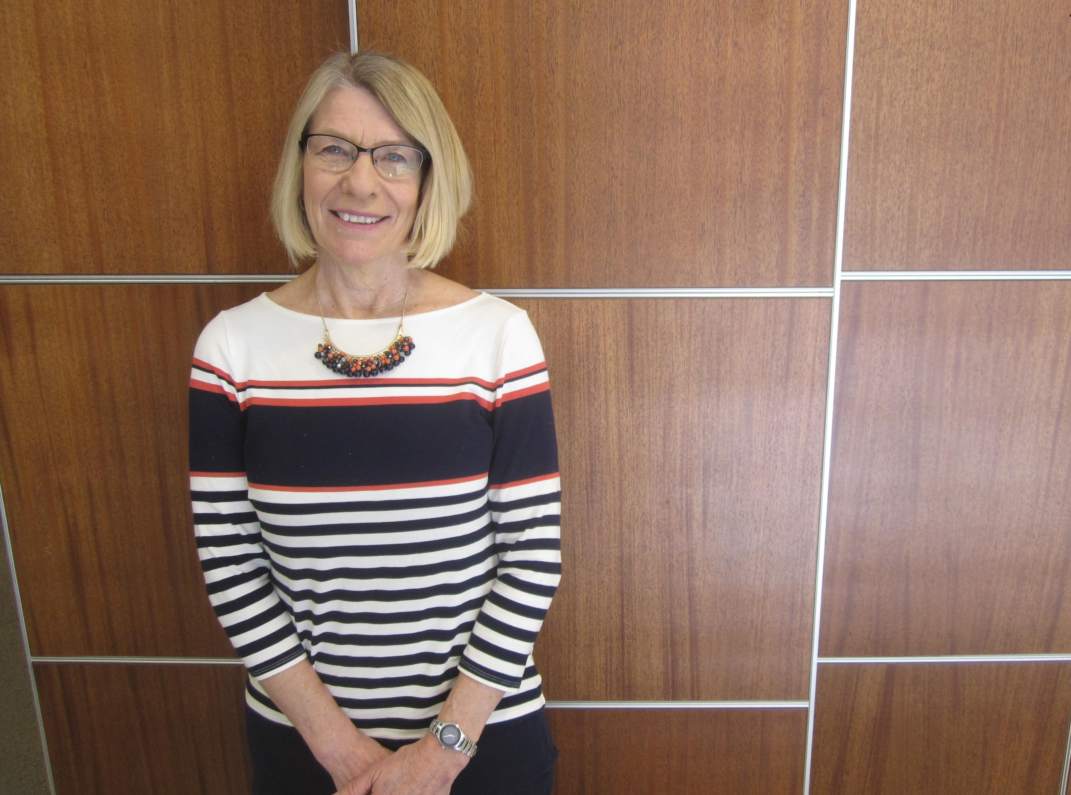 Mayoral candidate and Urbana Alderwoman Diane Marlin.