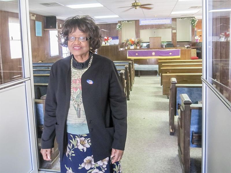 Urbana mayoral candidate Evelyn Burnett Underwood.