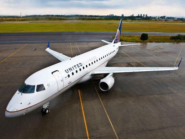 A United Express aircraft