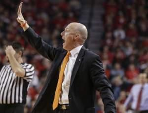 Illinois coach John Groce signals a play during the second half of an NCAA college basketball game against Nebraska in Lincoln, Neb., Sunday, Feb. 26, 2017.