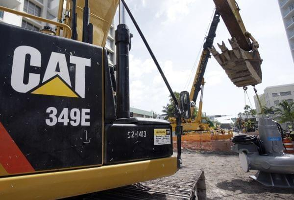 Last week, Caterpillar's Peoria HQ was raided by federal agents.