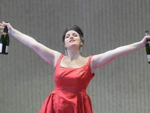 La Traviata performed on stage