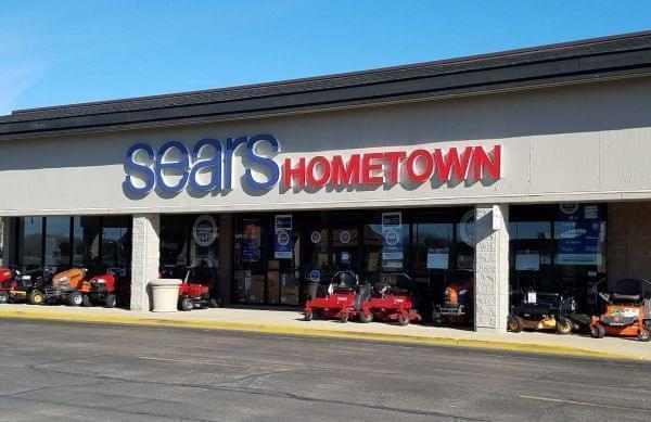 The Sears Hometown store in Champaign.