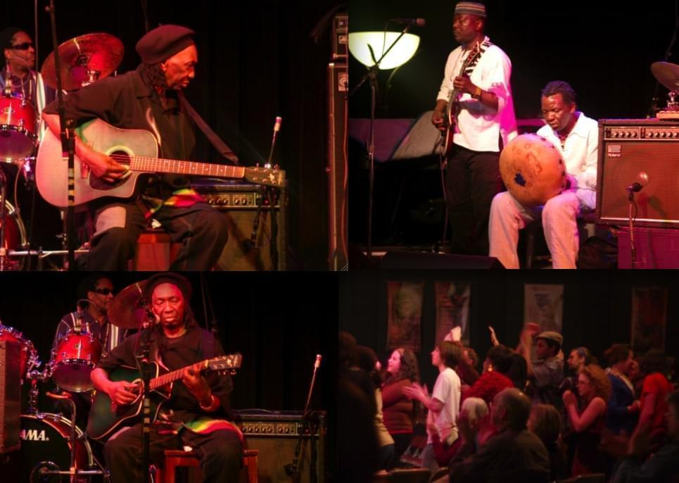 The legendary musician Thomas Mapfumo at a performance in 2009.