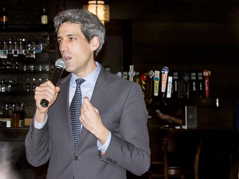 State Senator Daniel Biss of Evanston