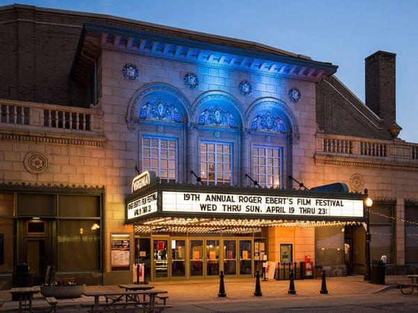The Virginia Theater in Champaign