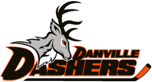 Logo for the Danville Dashers hockey team.