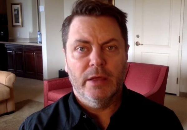 Actor, comedian, and University of Illinois alumnus Nick Offerman announces on the U of I Facebook page that he'll be May 13 commencement speaker.