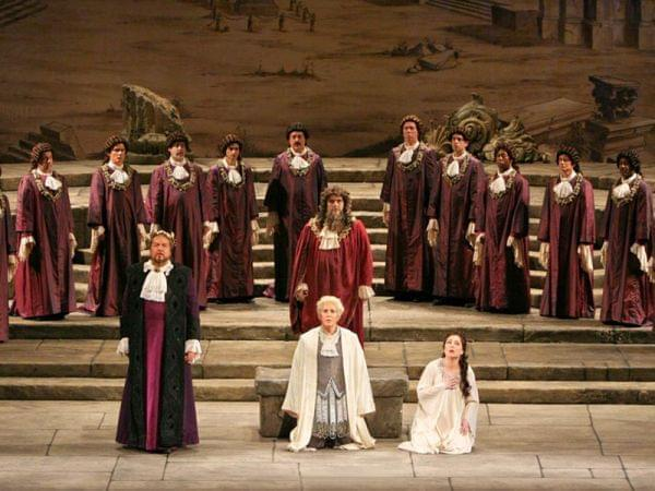 Idomeneo performed by the Metropolitan Opera.