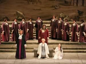 Idomeneo performed by the Metropolitan Opera.
