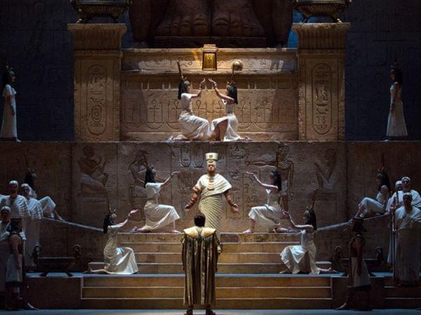 Aida performed by the Metropolitan Opera.