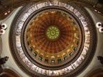 The Illinois State Capitol rotunda.