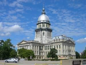 The Illinois Statehouse in Springfield.