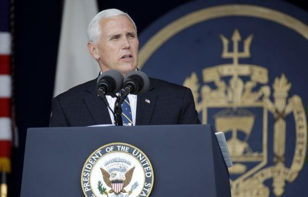 Vice-President Mike Pence.