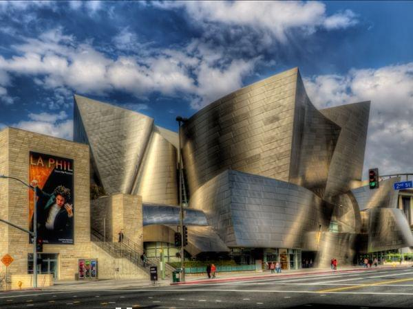 Walt Disney Concert Hall, Los Angeles,