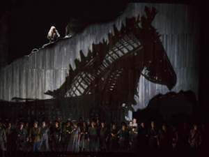 the Lyric Opera of Chicago's performance of Les Troyens (The Trojans)